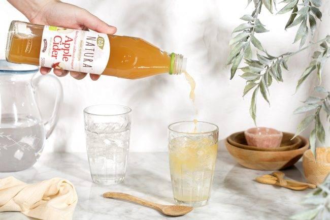 Яблочный уксус для похудения с рецептами