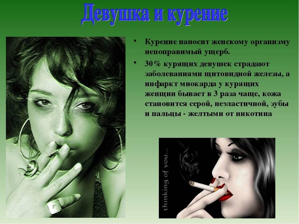 Курящая женщина глазами мужчин