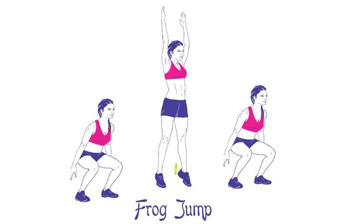 Приседание с выпрыгиванием: польза, особенности и техника выполнения упражнения