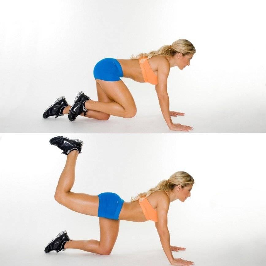 Упражнения со штангой для ягодиц для девушек и женщин