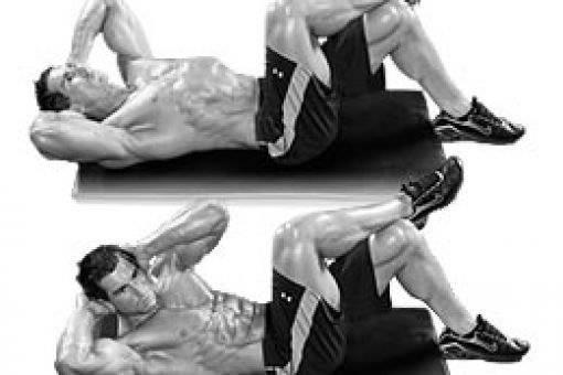 Упражнения для боковых мышц пресса: техника выполнения