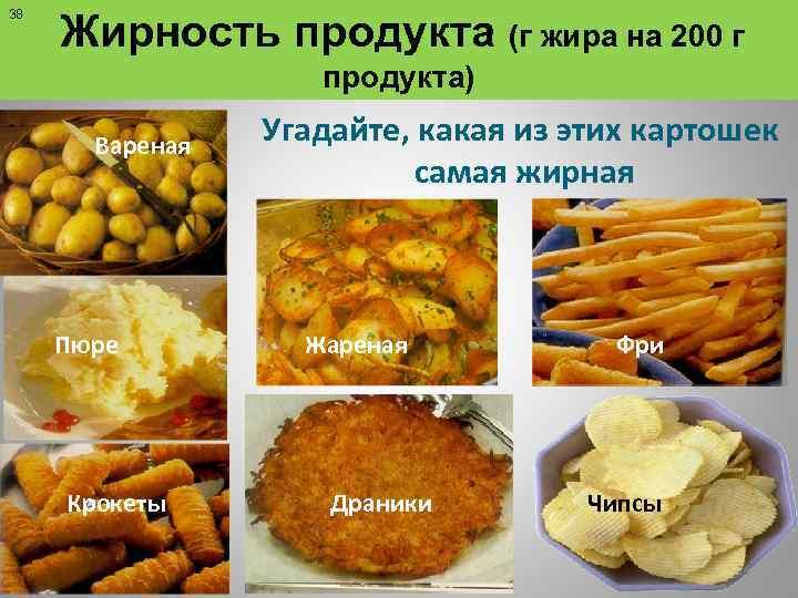 Калорийность жареной картошки: что делать? :: syl.ru