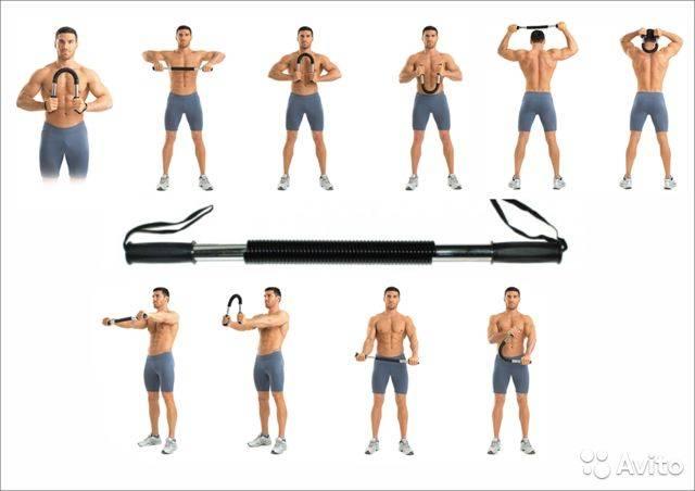10 упражнений с эспандером для женщин на все тело