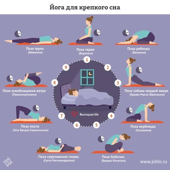 Зарядка перед сном: особенности вечерней гимнастики, упражнения для мужчин и женщин