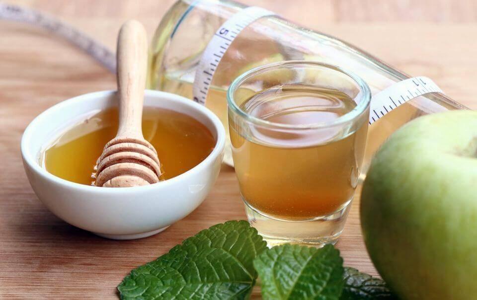 Яблочный уксус для похудения с рецептами - вес контроль