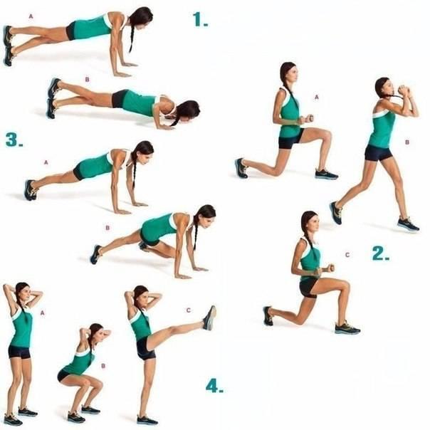 Упражнения для ягодиц с резинкой. комплекс из 10 упражнений