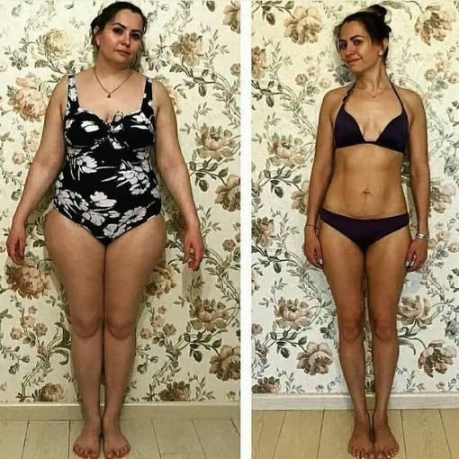 На сколько кг можно похудеть за месяц на правильном питании?