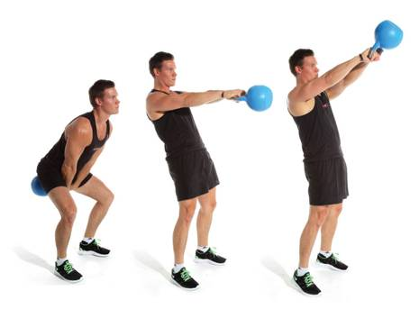 Махи гирей двумя руками: техника выполнения и польза от упражнения