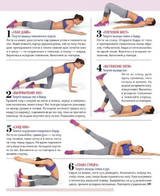 Как похудеть в бедрах: 6 эффективных упражнений