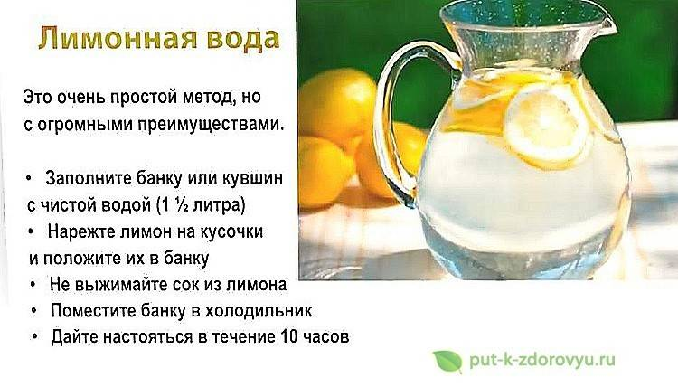 Вода с лимоном для похудения: 8 лучших рецептов и способов как похудеть с помощью лимона
