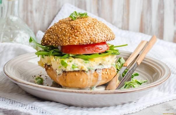 Бургеры пп – миф или реальность. диетический бургер с говядиной