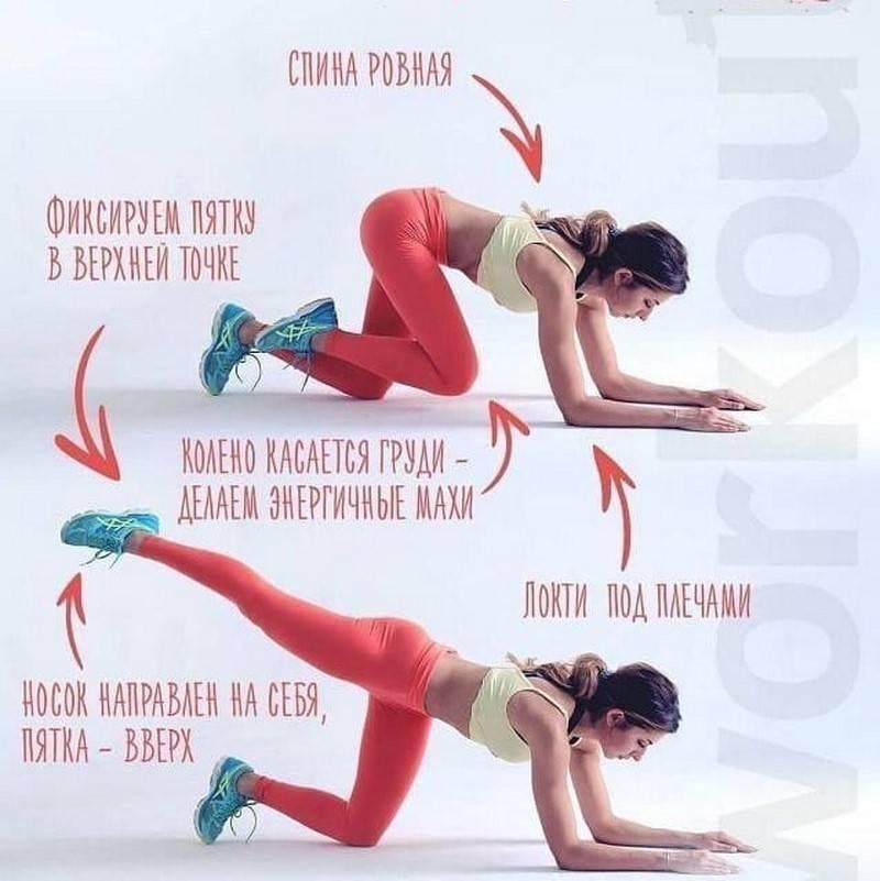 Упражнения для ягодиц дома и в тренажерном зале