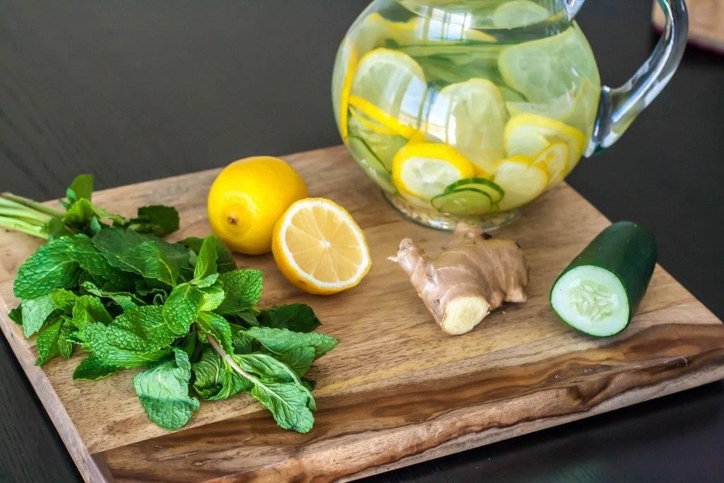 Лимонная вода для похудения: рецепты полезных напитков