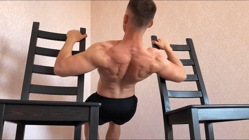 Как прокачать широчайшие мышцы спины в домашних условиях