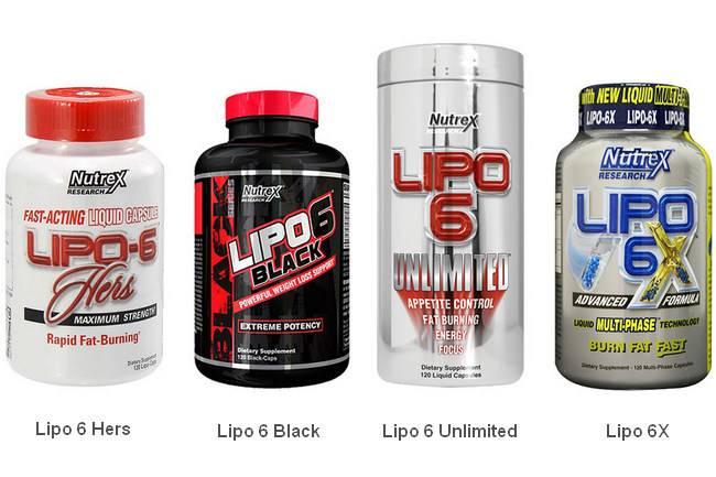 Жиросжигатель липо 6 (lipo 6) для мужчин и женщин