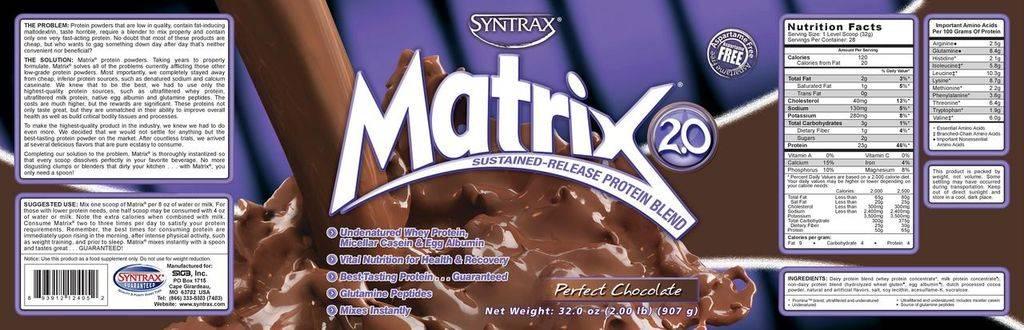 Протеин мatrix syntrax состав плюсы и минусы рекомендации по применению