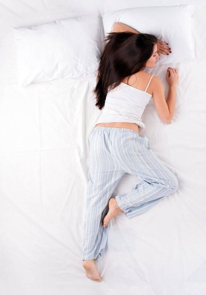 Позы во время сна здоровье