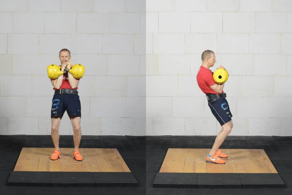 Комплекс упражнений с гирей на все группы мышц