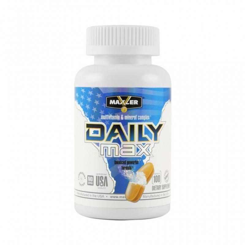 Daily max от maxler: отзывы, состав и как принимать витамины