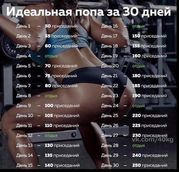 Комплекс простых упражнений на месяц для похудения: программа для дома - allslim.ru
