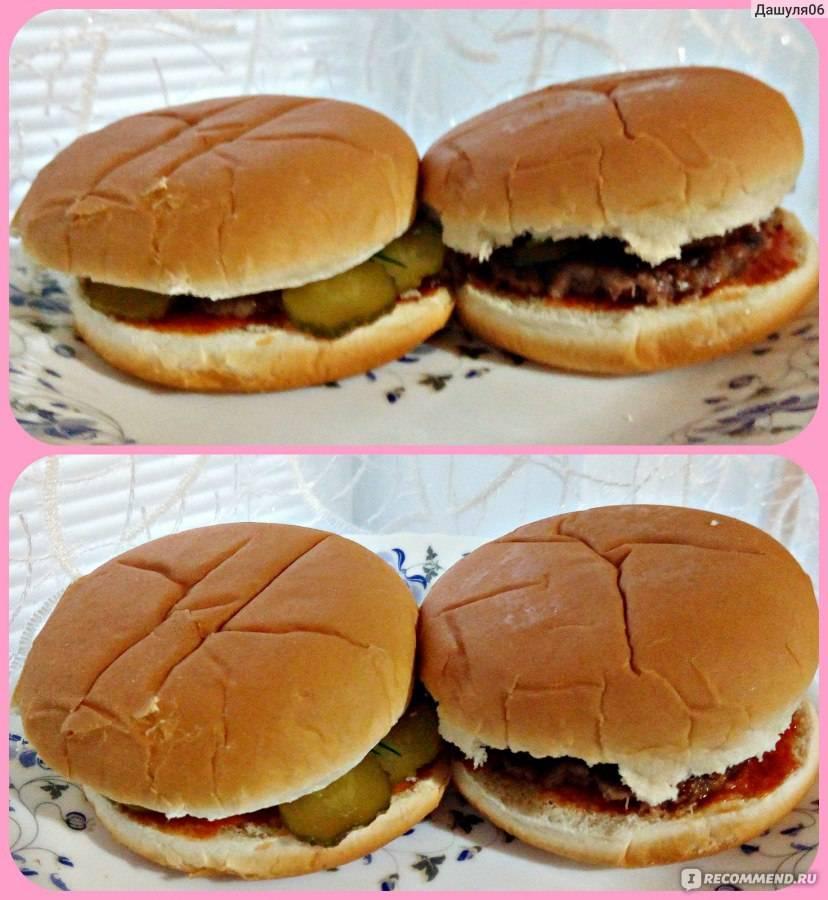 Пошаговый рецепт приготовления булочек для гамбургеров