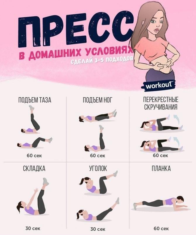 Как накачать пресс за 2 месяца: эффективные упражнения для быстрого результата