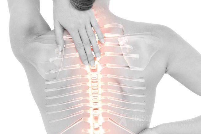 Боль в спине между лопатками: причины почему болит, лечение жжения