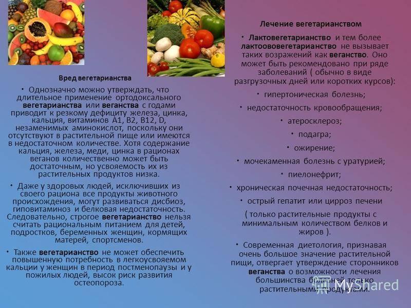 Вегетарианство и веганство: плюсы и минусы этих систем