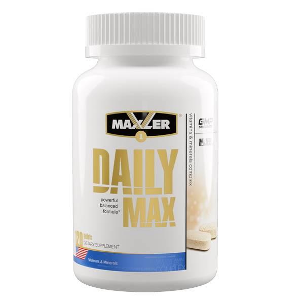 Daily max 120 табл (maxler)