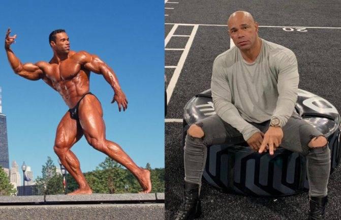 8 женщин бодибилдеров до и после принятия стероидов.
