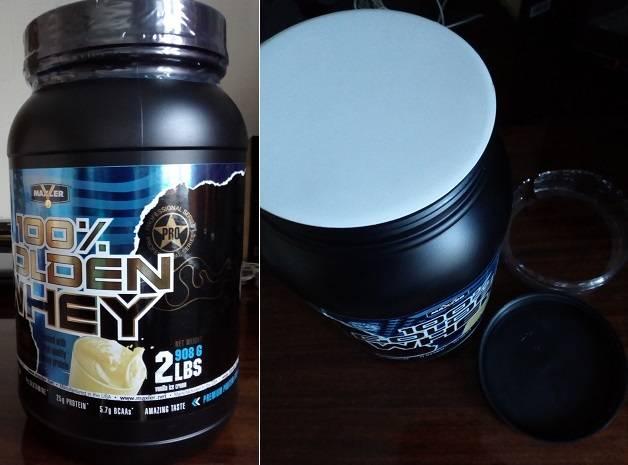 Maxler (usa) 100% golden whey ванильное мороженное 2270 г
