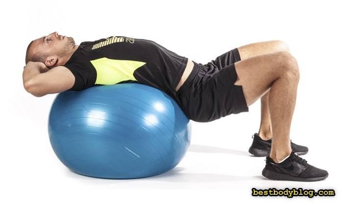 Комплекс упражнений на фитболе для похудения