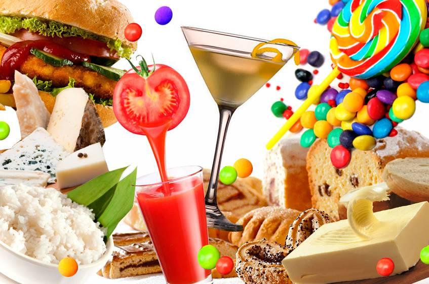 Продукты, от которых не поправляются вообще: список наименее калорийной правильной еды