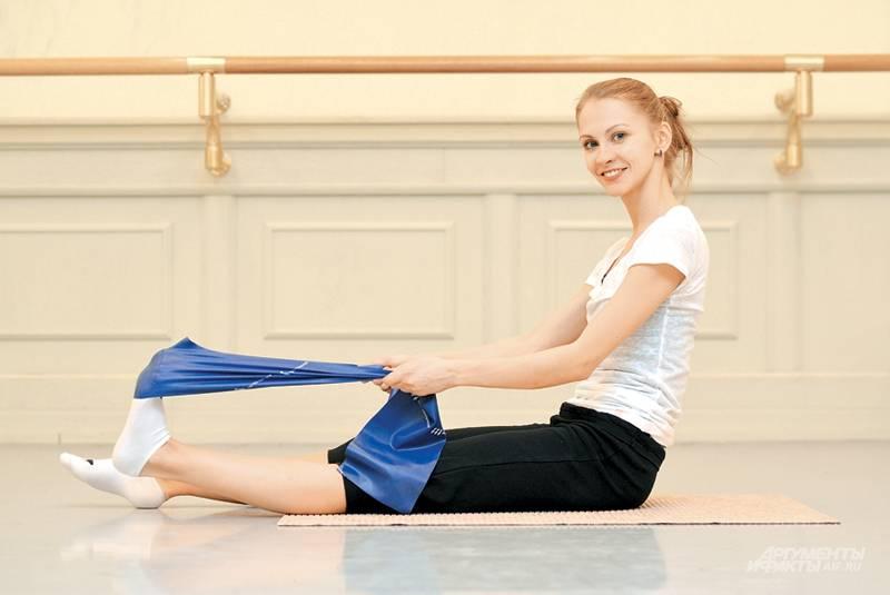 Стретчинг ног и упражнения на растяжку голеностопных суставов в картинках