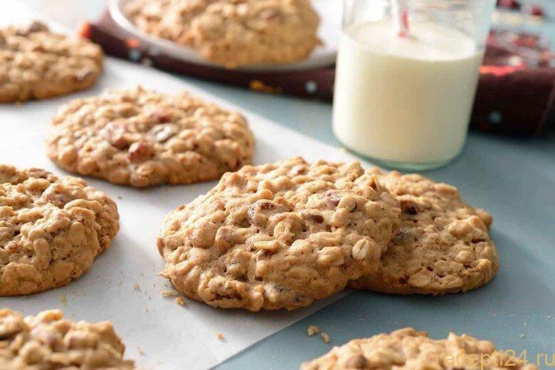 3 рецепта низкокалорийного диетического овсяного печенья — классический, с яблоками и курицей