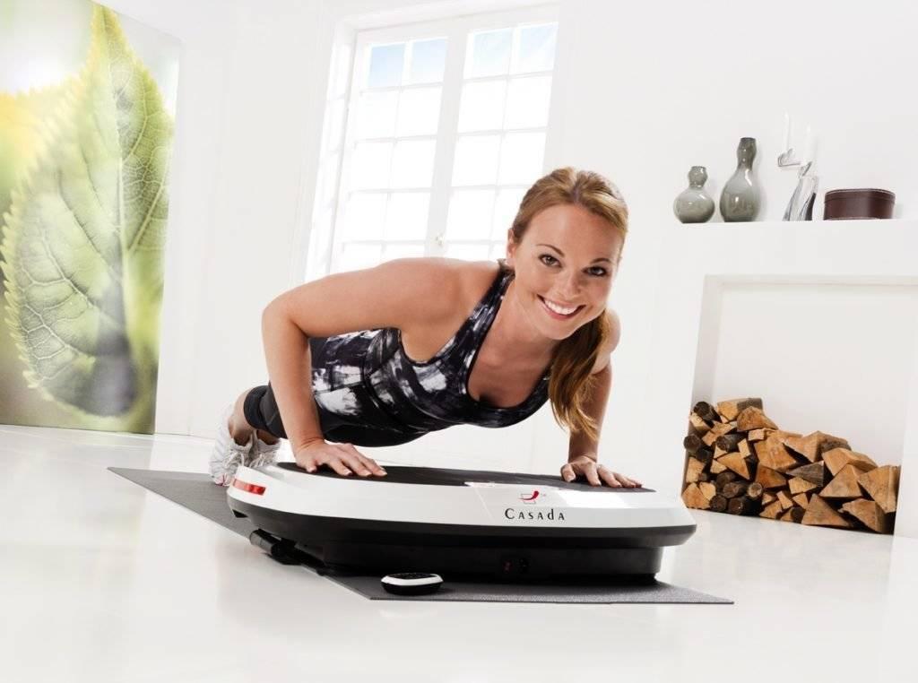 Виброплатформа для похудения: польза и вред, упражнения, отзывы