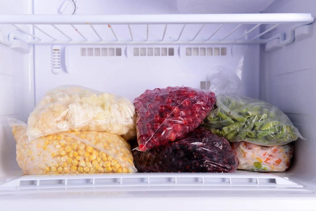 Замораживание, хранение и размораживание продуктов