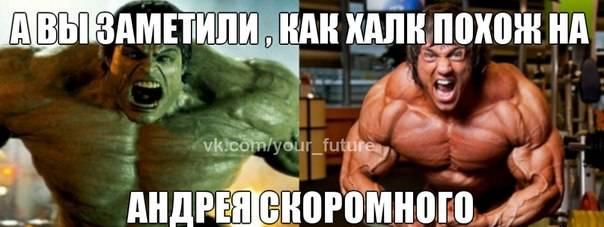 Биография Андрея Скоромного