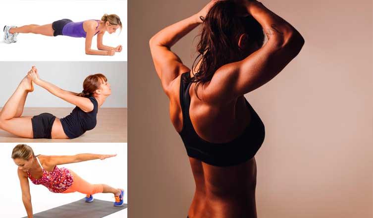 Как с помощью простых упражнений избавиться от жира на спине и лопатках - место силы 2.0