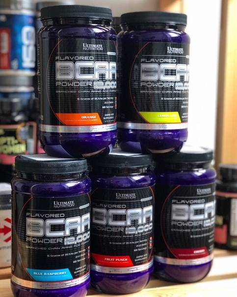 Пробник bcaa 12000 powder 7,6 гр (ultimate nutrition)