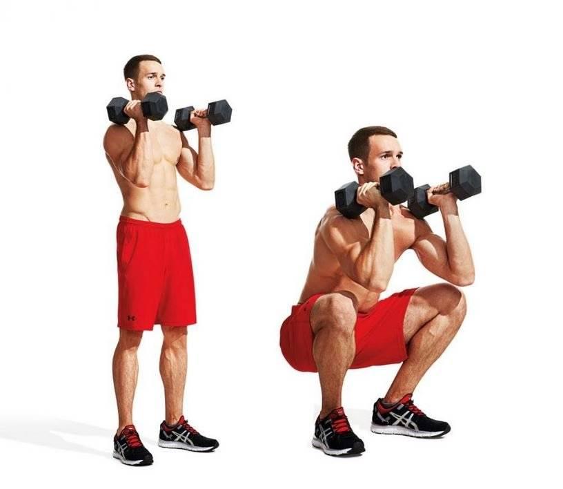 Лучшие упражнения на ноги с гантелями - tony.ru