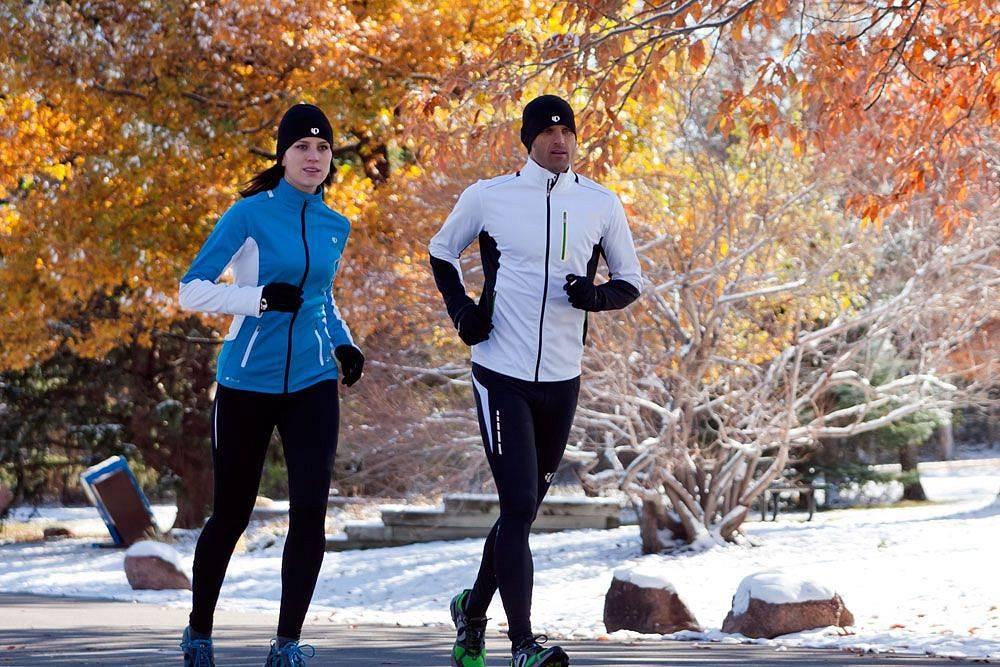 Бег зимой без вреда здоровью