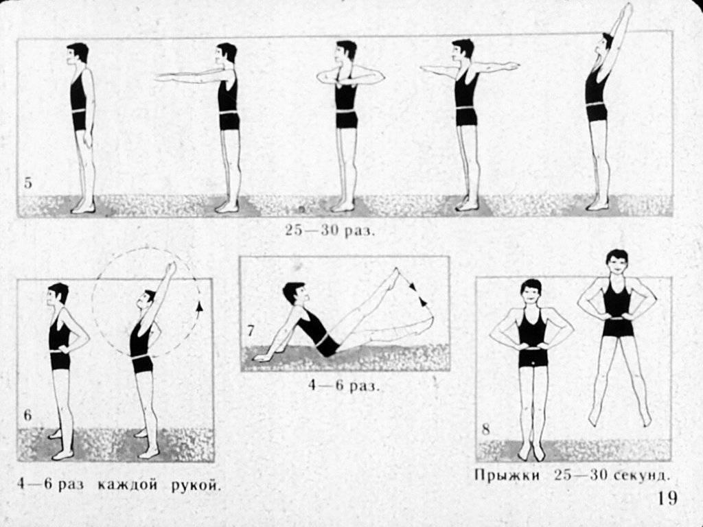 Как выполнять утреннюю зарядку? комплекс упражнений, советы по питанию