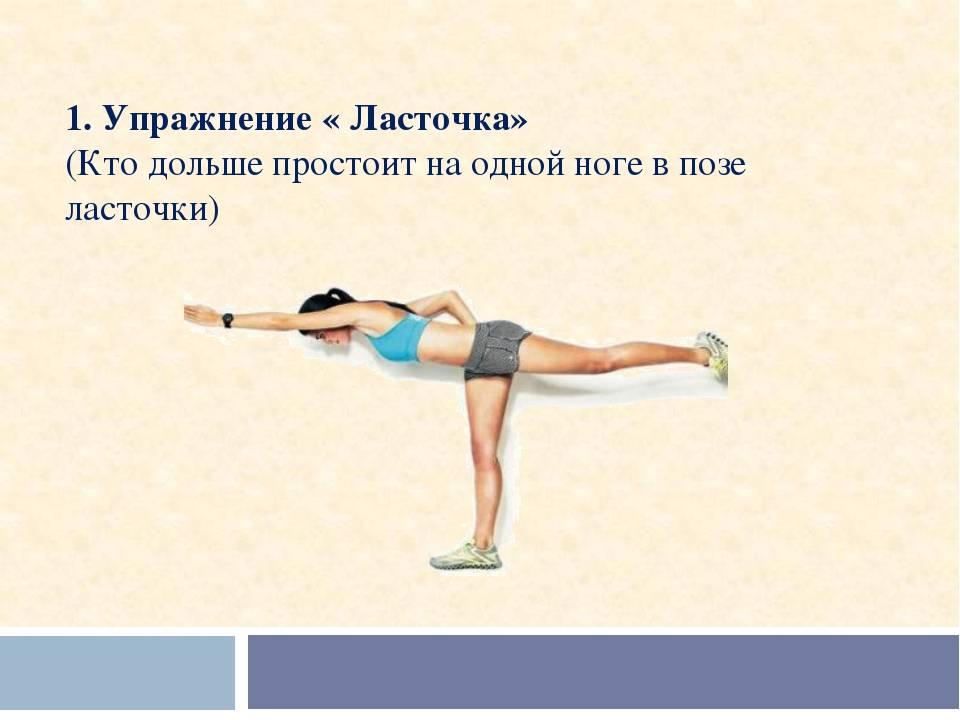 Как правильно делать упражнение ласточка. ласточка на турнике: как научиться делать горизонтальный вис сзади. упражнение для брюшного пресса