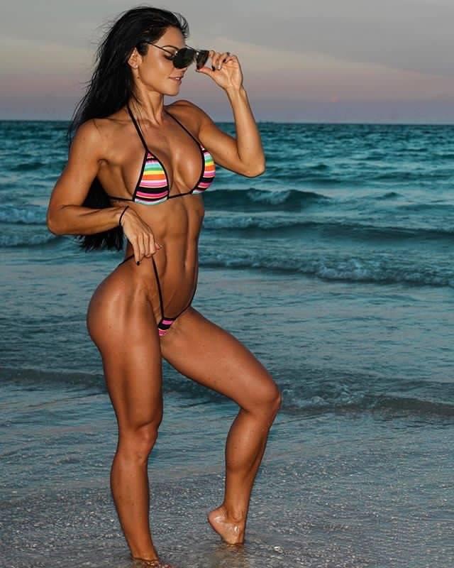 Мисс фитнес-бикини и профессиональная спортсменка анита херберт