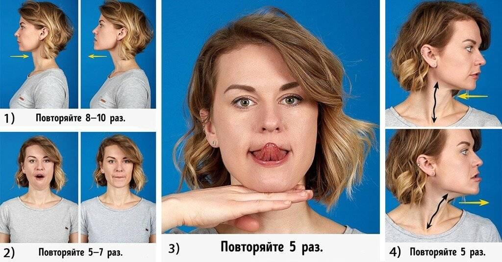 Как убрать брыли и подтянуть овал лица: 5 эффективных средств