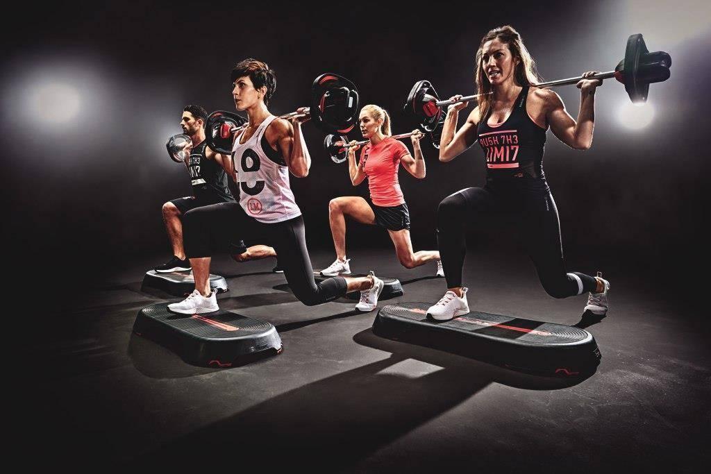 Тренировка body pump