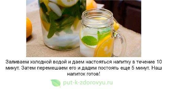 Лимонная вода для похудения: рецепты полезных напитков - allslim.ru