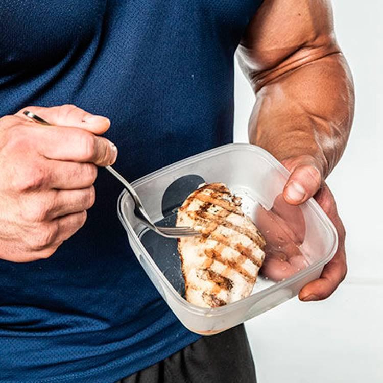 Питание на курсе стероидов: правило рациона атлета