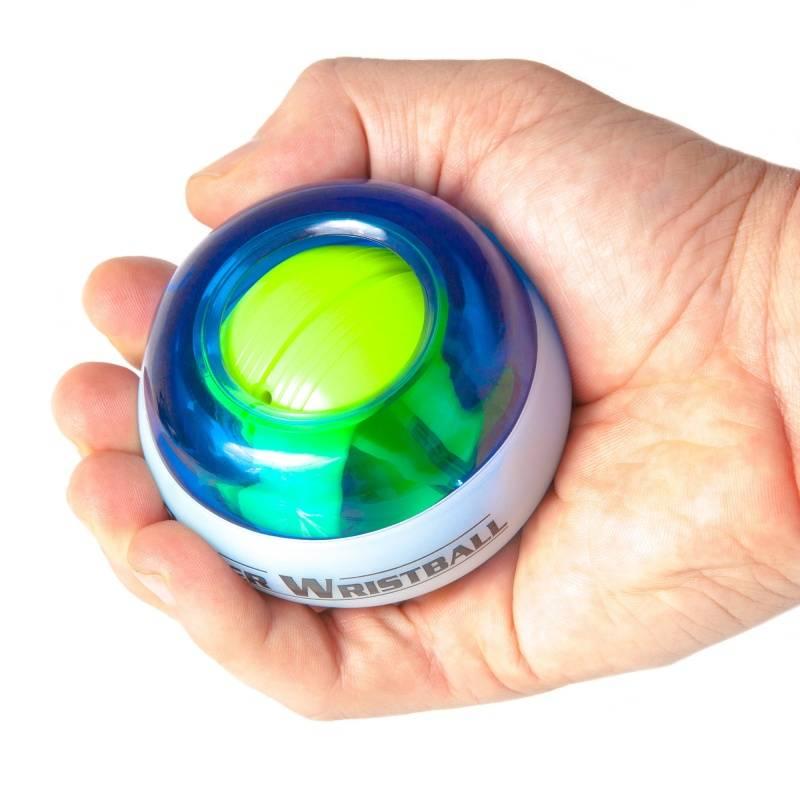 Зож купить, гироскопический кистевой эспандер power ball со светом и счетчиком, магазин подарков и сувениров быстро выгодно удобно самовывоз в москве доставка по россии